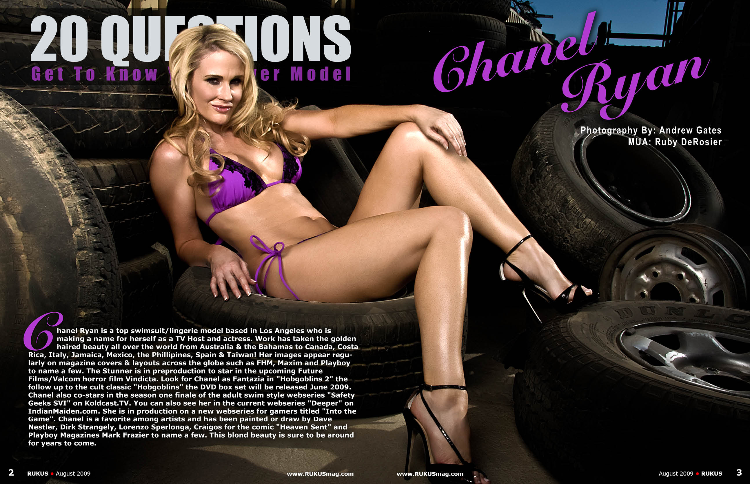 Chanel Ryan Model